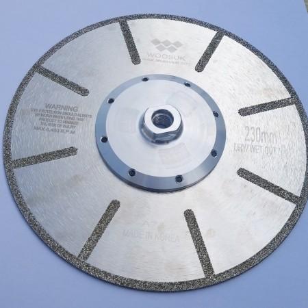 Δίσκος Μ 14 ηλεκτρολιζέ Φ 230 Full Face