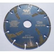 Δίσκος ηλεκτρολιζέ ξηράς  Φ 125